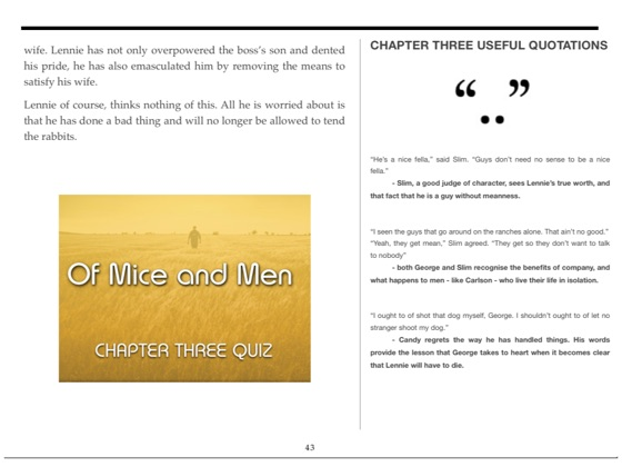 Of Mice And Men The Complete Exam Study Guide