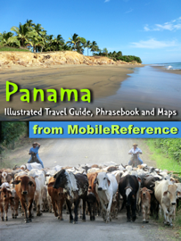 Panama: Illustrated Travel Guide, Phrasebook and Maps (Mobi Travel) book