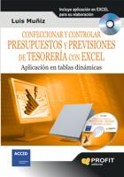 Confeccionar y controlar presupuestos y previsiones de tesoreria con excel ebook Download