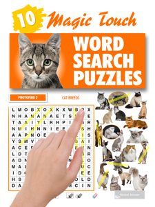 Magic Touch - Cat Breeds Word Search Puzzles Book Review
