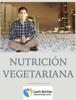 NUTRICIÓN VEGETARIANA - Roberto Ramsés Rodríguez Ponce