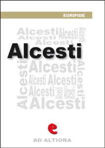 Alcesti Copertina del libro