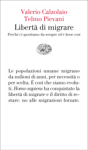 Libertà di migrare Copertina del libro