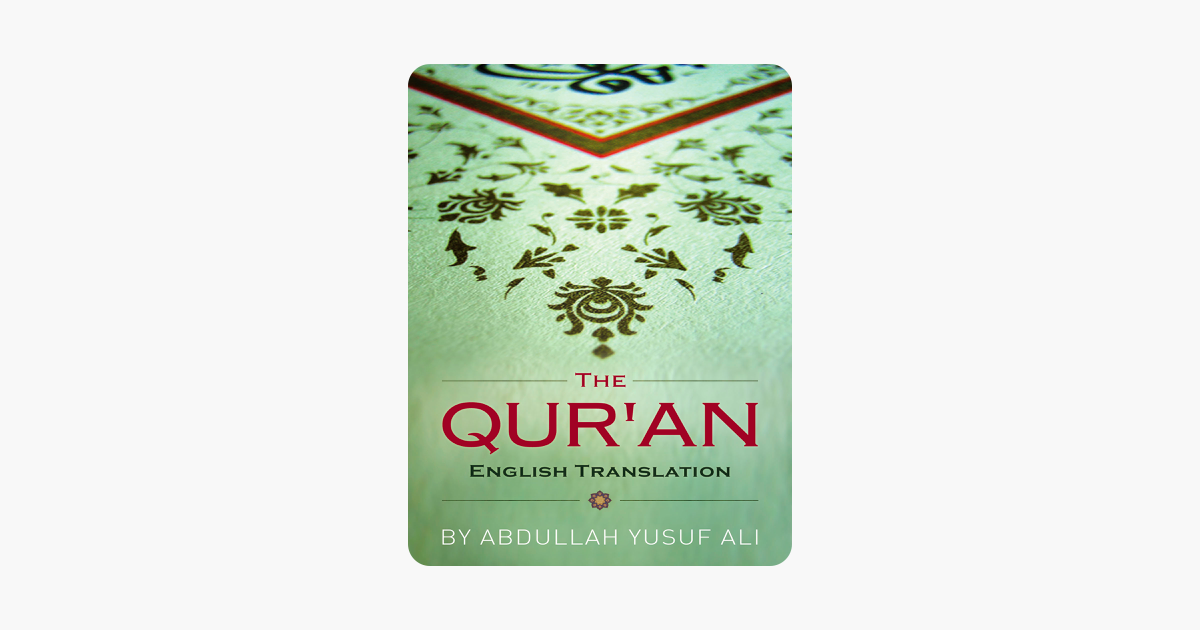 Holy Qur'an (English Translation) on Apple Books