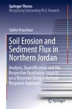 Soil Erosion And Sediment Flux In Northern Jordan
