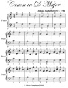 Canon In D Easiest Piano Sheet Music