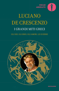 I grandi miti greci Libro Cover