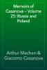 Arthur Machen & Giacomo Casanova - Memoirs of Casanova — Volume 25: Russia and Poland artwork