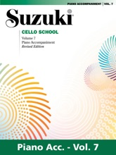 Suzuki Cello School - Volume 7 (Revised)