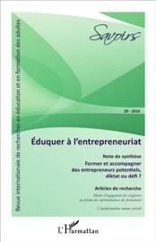 Éduquer à l'entrepreneuriat - Editions L'Harmattan