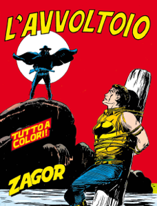 Zagor. L'avvoltoio Libro Cover