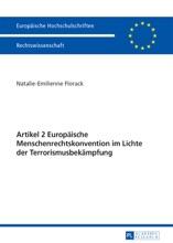 Artikel 2 Europäische Menschenrechtskonvention Im Lichte Der Terrorismusbekämpfung