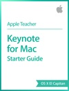 Keynote For Mac Starter Guide OS X El Capitan