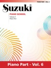 Suzuki Piano School - Volume 6 New International Edition
