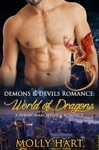 Demons  Devils Romance World Of Dragons- A Paranormal Menage Romance