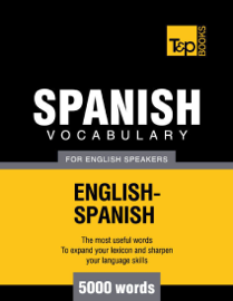 Spanish Vocabulary for English Speakers book