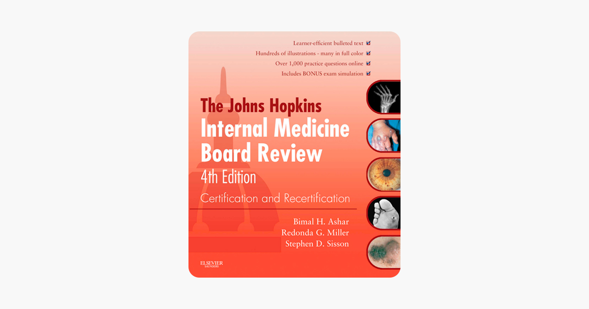 Johns Hopkins Internal Medicine Board Review E-Book