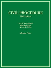 Civil Procedure, 5th, (Hornbook Series) PDF Download