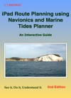 IPad Route Planning Using Navionics And Marine Tides Planner