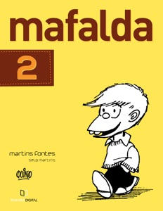 Mafalda 02 (Português) Book Cover
