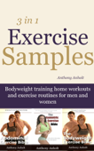 Exercise Samples: Bodyweight Training Home Workouts And Exercise Routines For Men And Women