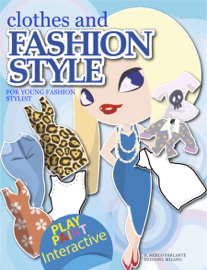 Clothes and Fashion Style for young Stylist book