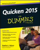 Quicken 2015 For Dummies