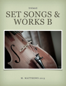 Set Songs & Works in Music B