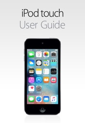 iPod touch User Guide for iOS 9.3