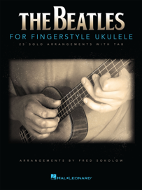 The Beatles for Fingerstyle Ukulele book