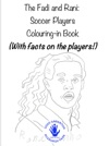 Soccer Players Colouring-in Book English Arabic