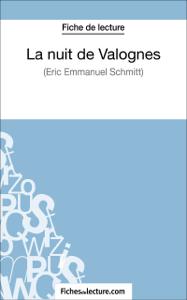 La nuit de Valognes d'Eric-Emmanuel Schmitt (Fiche de lecture) Couverture de livre