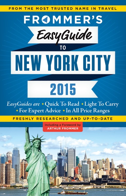 Frommers EasyGuide to New York City 2018