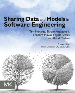 Sharing Data and Models in Software Engineering La couverture du livre martien