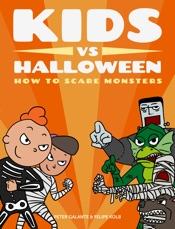 Kids vs Halloween: How to Scare Monsters