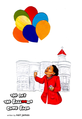 The Day the Balloons Came Back - Neil James book