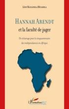 Hannah Arendt Et La Faculté De Juger