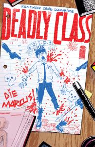 Deadly Class #9 Boekomslag