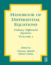 Handbook Of Differential Equations: Ordinary Differential Equations (Enhanced Edition)
