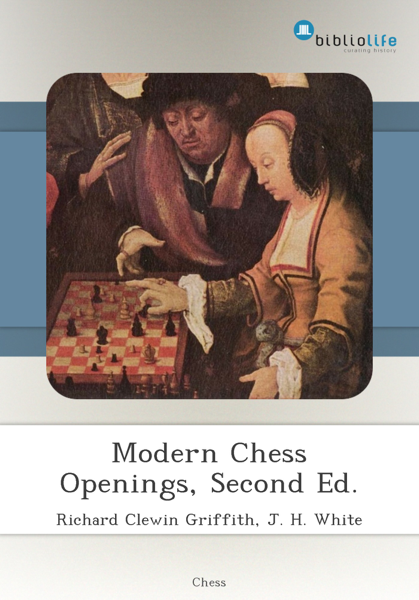 Modern Chess Openings, Second Ed.