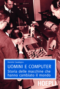 Uomini e computer Copertina del libro