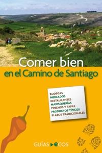Comer bien en el Camino de Santiago Book Cover