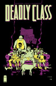 Deadly Class #10 Boekomslag