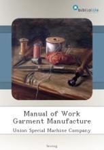 Manual Of Work Garment Manufacture