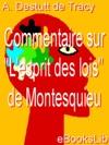 Commentaire Sur Lesprit Des Lois De Montesquieu