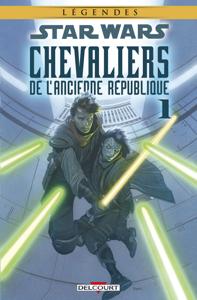 Star Wars - Chevaliers de l'Ancienne République T01. NED La couverture du livre martien
