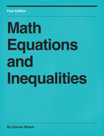 Math Equations and Inequalities