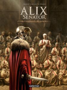 Alix Senator (Tome 3) - La Conjuration des Rapaces La couverture du livre martien