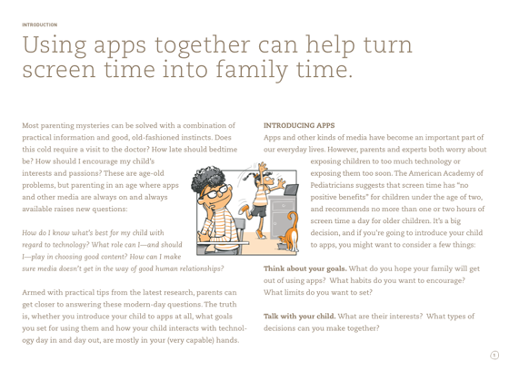 Family Time with Apps on Apple Books