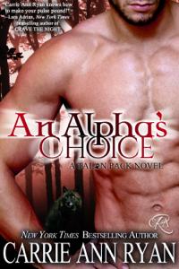 An Alpha's Choice E-book